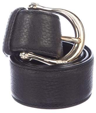 Gucci Leather Dress Belt
