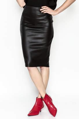 BB Dakota Chloe Snakeskin Skirt