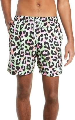Trunks Boardies Cheetah Print Swim