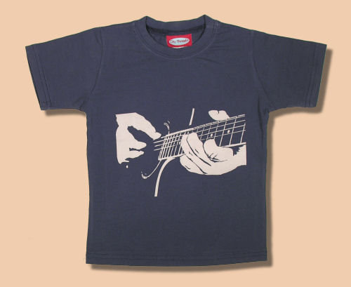 City Threads Midnight Acoustic Guitar Tee