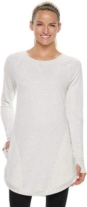 Tek Gear Women's French Terry Thumb Hole Tunic