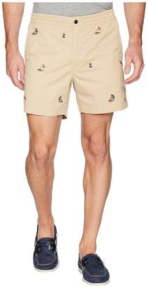 Polo Ralph Lauren Coastal Embroidery Stretch Twill Shorts Men's Shorts