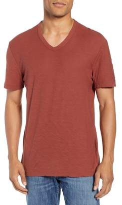 James Perse Regular Fit V-Neck Shirt