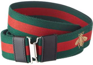 Gucci Web Bee Belt