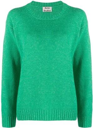 Acne Studios Samara crew neck knitted sweater