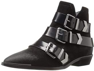Diesel Women's Mannish D-Enilla Buckle Ankle Bootie $274.74 thestylecure.com