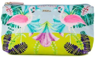 Furla flamingo make up bag