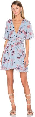House of Harlow x REVOLVE Harper Wrap Dress $158 thestylecure.com