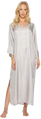 Natori N by Congo Satin Caftan Women's Pajama
