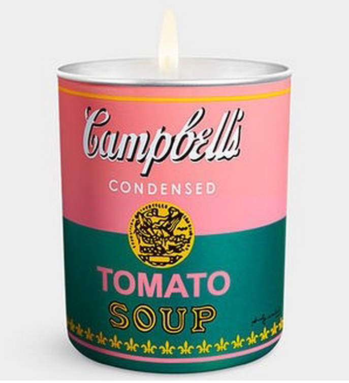 Thompson Ferrier Andy Warhol Campbell's Pink and Green Candle