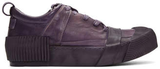 Boris Bidjan Saberi Purple Horse Sneakers