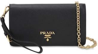 Prada Mini Saffiano Leather Shoulder Bag