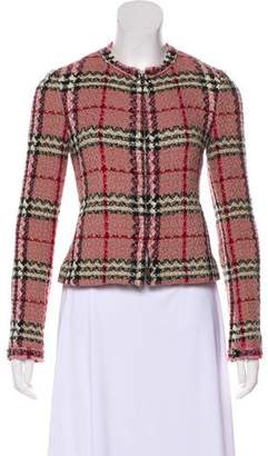 Burberry Tweed Nova Check Jacket