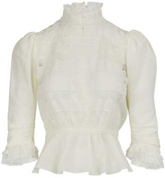 """Marc Jacobs The Victorian"""" blouse"""