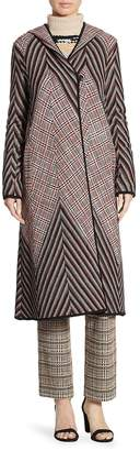 Missoni Women's Hooded Patchwork Coat