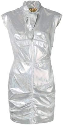MSGM glitter mini dress