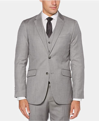 Perry Ellis Men Slim-Fit Herringbone Suit Jacket