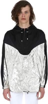 Isabel Marant Richie Metallic Nylon Raincoat