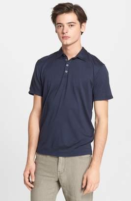 John Varvatos Hampton Silk & Cotton Polo