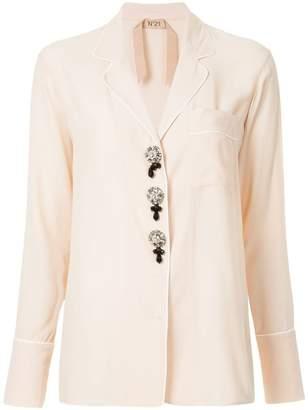 Visit Sale Online Free Shipping Pick A Best contrast trim shirt - Pink & Purple N°21 XSiNx4