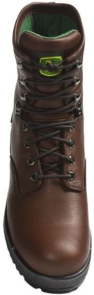 "John Deere Footwear 8"" Work Boots - Oiled Leather, Wedge Sole (For Men)"
