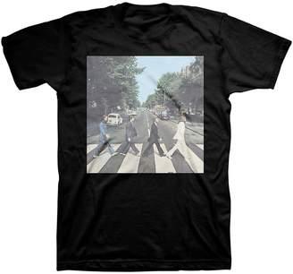 Bravado Men's The Beatles Abbey Road T-Shirt Heather Gray