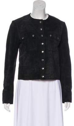 Etoile Isabel Marant Suede Collarless Jacket w/ Tags