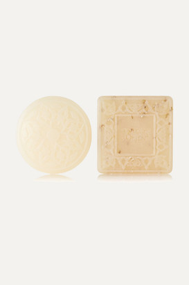 Senteurs d'Orient - Ma'amoul Soap Rose Of Damascus And Almond Exfoliant Refill Duo - Colorless