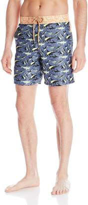 Maaji Men's Sharpy Sharks Swim Trunk
