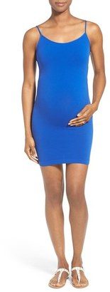 Women's Tees By Tina Cami Tunic Slip Maternity Dress $50 thestylecure.com