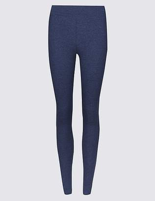 Marks and Spencer Cotton Rich Textured Leggings