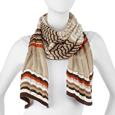 JCPenney Chevron Scarf