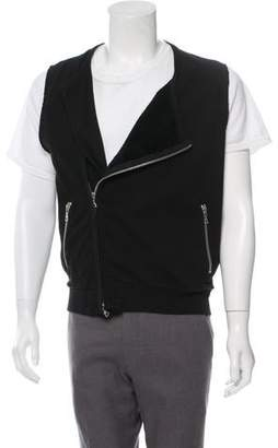 Dries Van Noten Zip-Up Asymmetric Vest