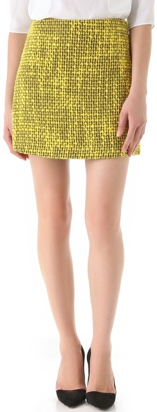 Alice + olivia Gianna A Line Skirt