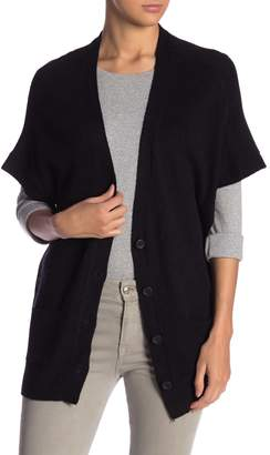 24/7 Comfort Buttoned Short Sleeve Cardigan