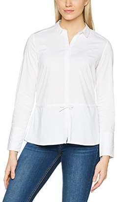 Comma Women's 817121630 Blouse, Black (White 00)