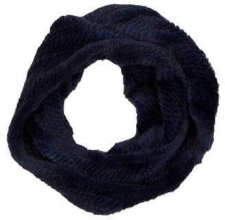 Cassin Knitted Mink Infinity Scarf