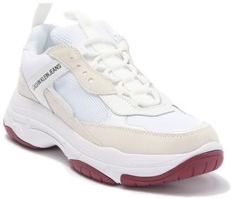 Calvin Klein Jeans Marvin Mixed Media Sneaker