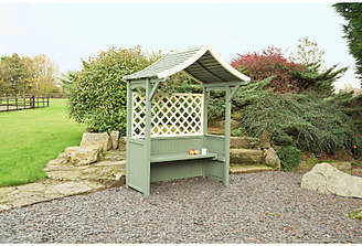 Rowlinson Painted Barbeque Arbour