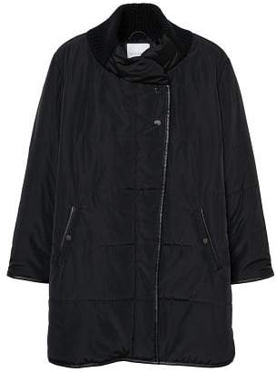 Violeta BY MANGO Quilted long coat