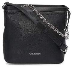 Calvin Klein Beverly Faux-Leather Chain Crossbody Bag