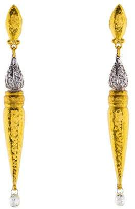 Gurhan Diamond Sultan Drop Earrings