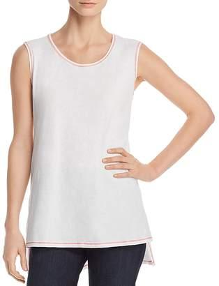 Eileen Fisher Organic Cotton Step-Hem Tunic Top