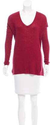 Soft Joie Wool-Blend High-Low Top