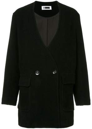 H Beauty&Youth (エイチ ビューティ アンド ユース) - H Beauty&Youth double-breasted cocoon coat