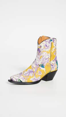 R 13 Ankle Cowboy Boots