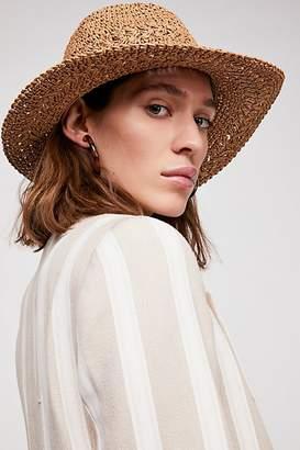 Summerland Crochet Straw Sun Hat