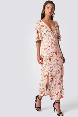 Trendyol Flower Patterned Cruise Dress