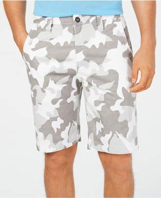 "INC International Concepts Inc Men 10"" Chambray Camo Shorts"