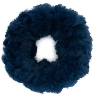 Yves Salomon sheared collar scarf
